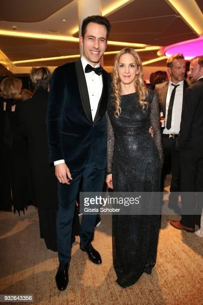 Alexander Mazza Caro Matzko during the Four Seasons Fashion Charity Dinner at Hotel Vier Jahreszeiten on March 15 2018 in Munich Germany
