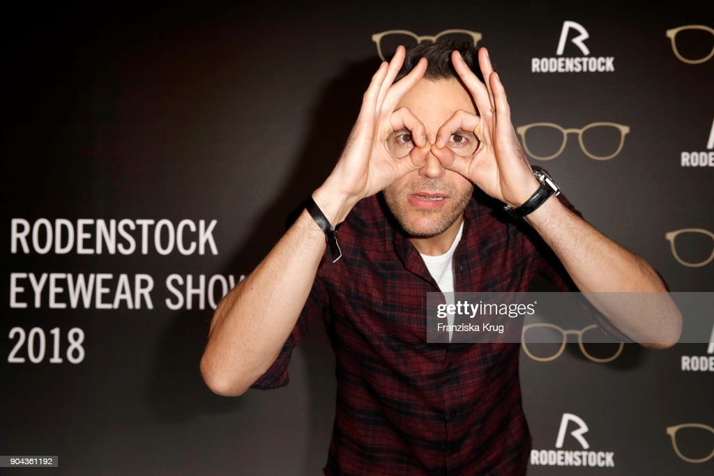 Alexander Mazza during the Rodenstock Eyewear Show on January 12, 2018 in Munich, Germany.
