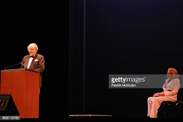 Alexander McCall Smith and Liz Smith attend 'AN EVENING OF READINGS' at LITERACY PARTNERS' Annual Gala Honoring Arnold Scaasi Liz Smith Parker Ladd...