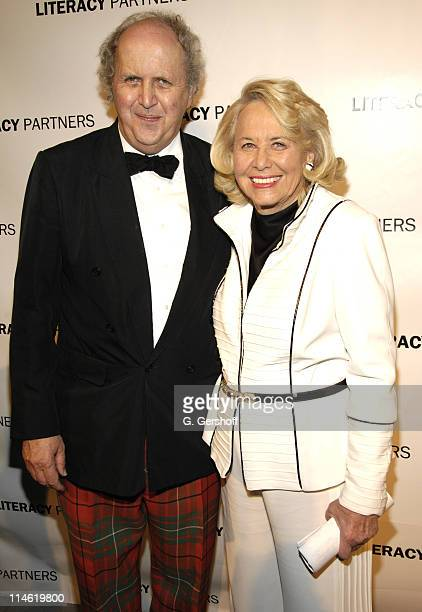 Alexander McCall Smith and Liz Smith honoree during Literacy Partners Hosts Annual Gala 'An Evening of Readings' at Lincoln Center New York State...