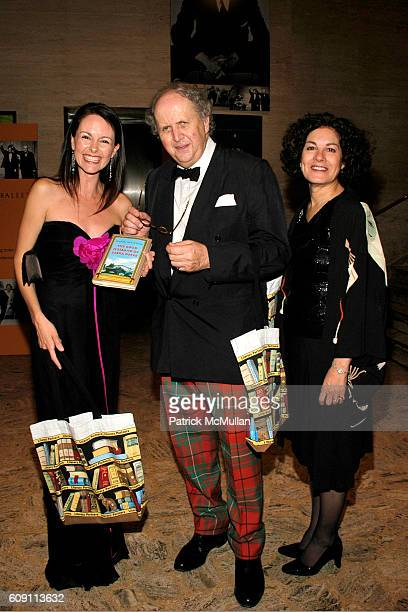Alexander McCall Smith and Robin Straus attend 'AN EVENING OF READINGS' at LITERACY PARTNERS Annual Gala Honoring Arnold Scaasi Liz Smith Parker Ladd...