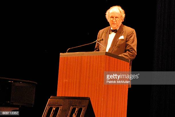 Alexander McCall Smith attends 'AN EVENING OF READINGS' at LITERACY PARTNERS Annual Gala Honoring Arnold Scaasi Liz Smith Parker Ladd at New York...