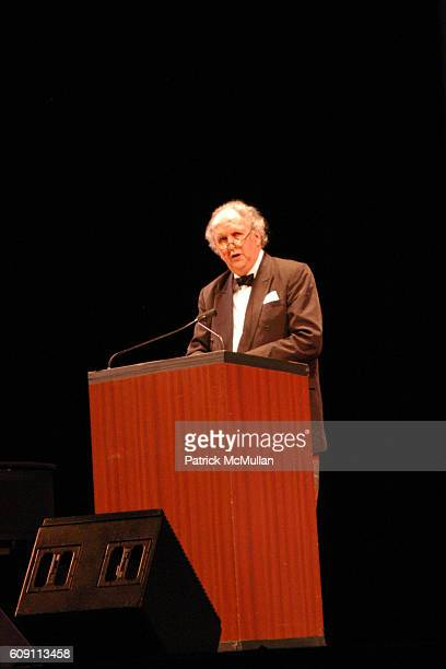 Alexander McCall Smith attends 'AN EVENING OF READINGS' at LITERACY PARTNERS' Annual Gala Honoring Arnold Scaasi Liz Smith Parker Ladd at New York...