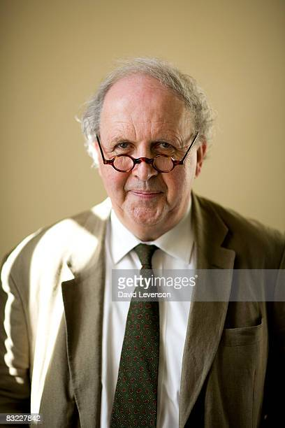 Alexander McCall Smith author at the Times Cheltenham Literature Festival on October 11 2008 in Cheltenham England