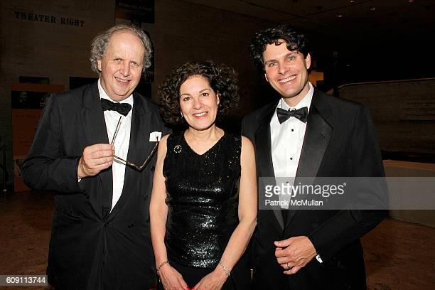 Alexander McCall Smith Robin Straus and Edward Kastenmeier attend 'AN EVENING OF READINGS' at LITERACY PARTNERS Annual Gala Honoring Arnold Scaasi...