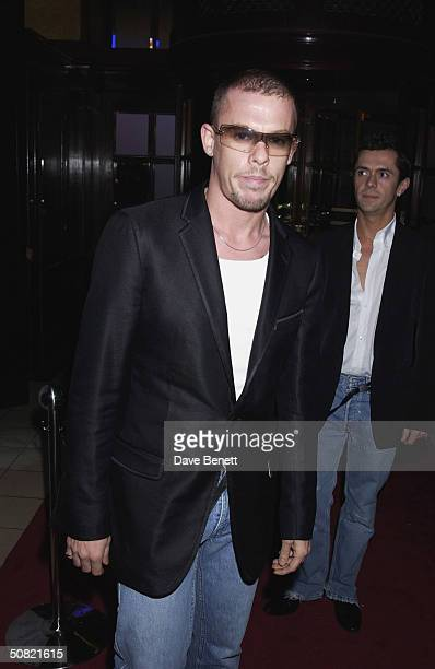 Alexander McQueen attends the MAC Cosmetics Charity Party to support Aids in London in honour of Mary J Blige at The Criterion Restaurant on April 23...