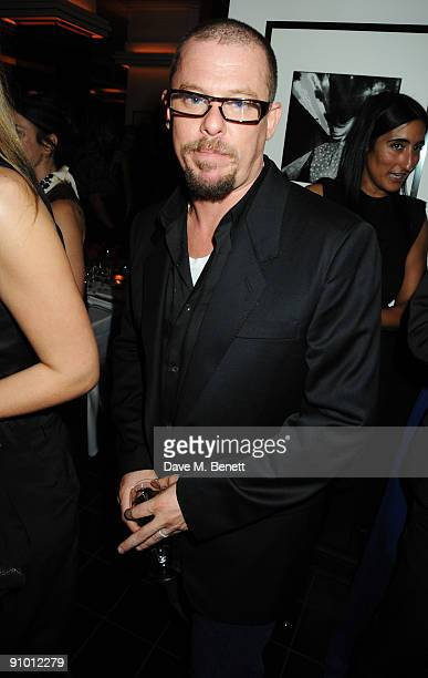 Alexander McQueen attends the private dinner hosted by editor of British Vogue Alexandra Shulman in association with NetAPortercom in honour of 25...