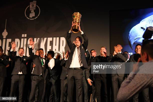 during the Eintracht Frankfurt Cup Gala DFB Cup Final 2018 on May 20 2018 in Berlin Germany