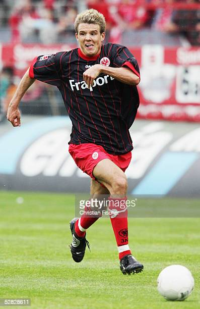 Alexander Meier of Frankfurt during the 2 Bundesliga match between Energie Cottbus and Eintracht Frankfurt at the Stadion der Freundschaft on May 15...