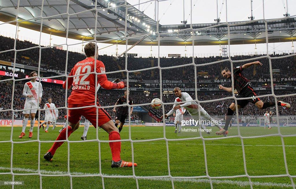 Eintracht Frankfurt v Werder Bremen - Bundesliga : News Photo