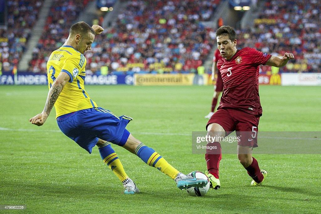 """UEFA European Under-21 Championship - """"Sweden v Portugal"""" : News Photo"""