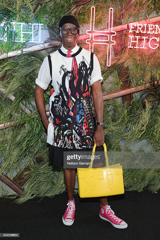 2016 Coach And Friends Of The High Line Summer Party On The High Line
