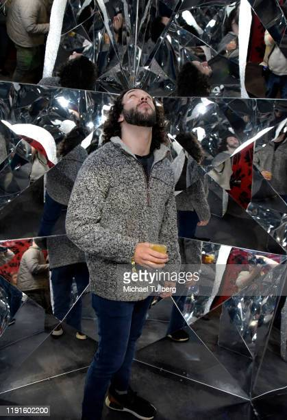 Alexander Morales attends the VIP opening night for the Dumpling Associates popup art exhibition at ROW DTLA on December 02 2019 in Los Angeles...