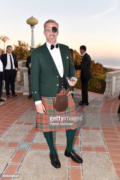 Alexander Munro attends Hearst Castle Preservation Foundation Benefit Weekend 'James Bond 007 Costume Gala' at Hearst Castle on September 29 2017 in...