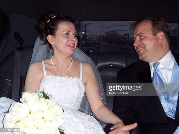 Alexander Nefedov-Skovitan , Ehefrau Anna Roche, Hochzeit, New York, Nordamerika, USA, Amerika, Hochzeitskleid, Braut, Bräutigam, E;