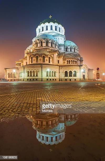 alexander nevski cathedral - bulgaria stock pictures, royalty-free photos & images