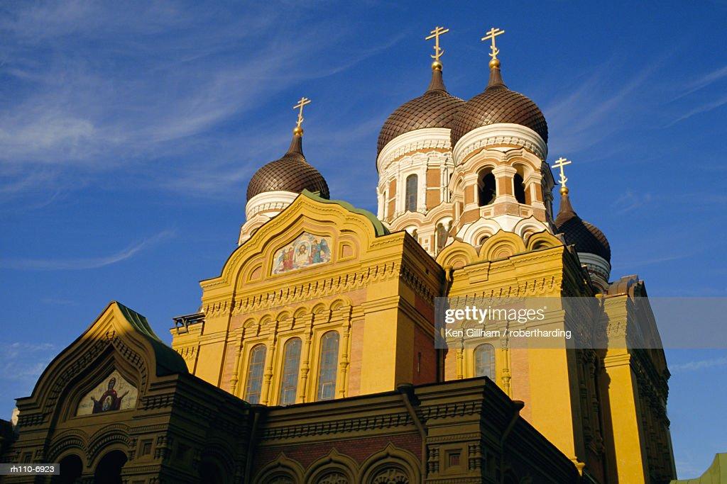 Alexander Nevski Cathedral, Tallinn, Estonia : Foto de stock