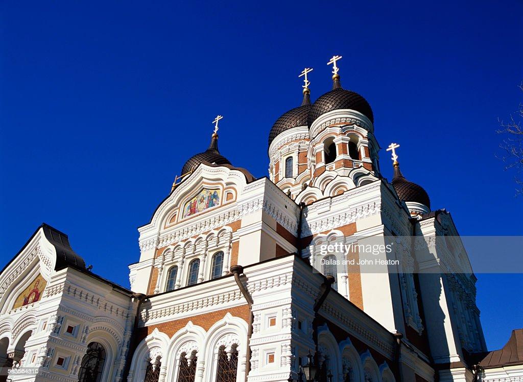 Alexander Nevski Cathedral, Toompea, Old Town, Tallinn, Estonia : Stock Photo