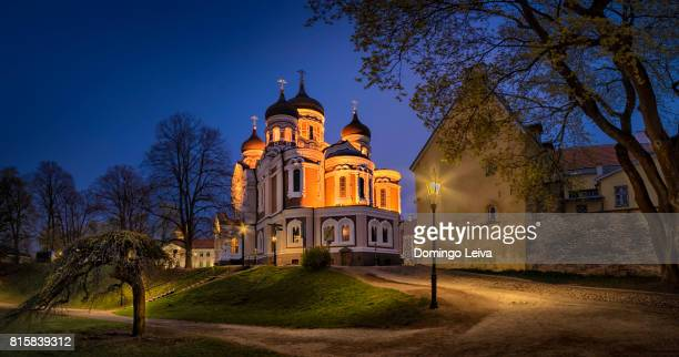 alexander nevsky cathedral - tallinn stock pictures, royalty-free photos & images