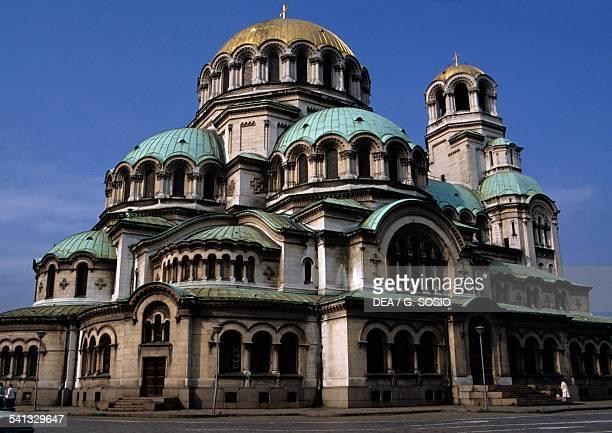 Alexander Nevsky orthodox cathedral Sofia Bulgaria