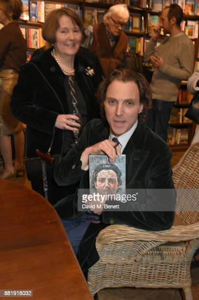 Alexander Newley attends the launch of new book 'Unaccompanied Minor' by Alexander Newley at Daunt Books on November 29 2017 in London England