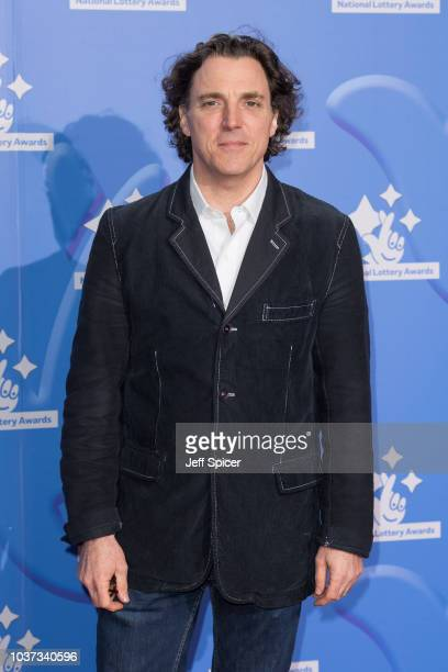 Alexander Newley attends the National Lottery Awards 2018 held at BBC Television Centre on September 21 2018 in London England