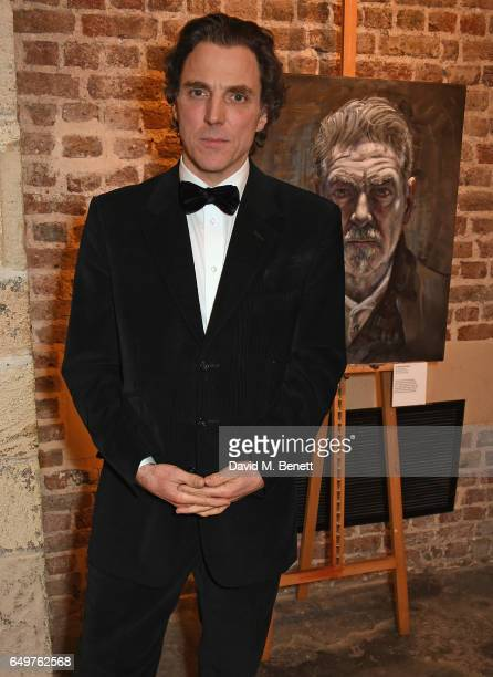 Alexander Newley attends the St MartinintheFields Gala Dinner and auction of Alexander Newley portraits on March 8 2017 in London England