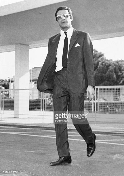 Alexander Onassis the son of shipping magnate Aristotle Onassis is shown