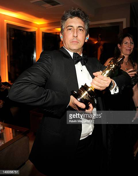 Alexander Payne attends the 2012 Vanity Fair Oscar Party Hosted By Graydon Carter at Sunset Tower on February 26 2012 in West Hollywood California