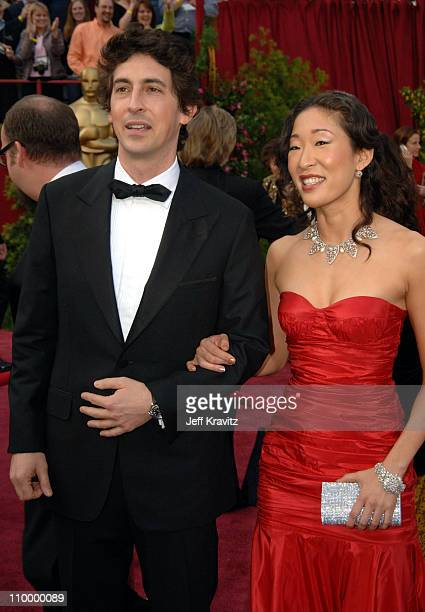 "Alexander Payne nominee Best Adapted Screenplay for ""Sideways "" and wife Sandra Oh"