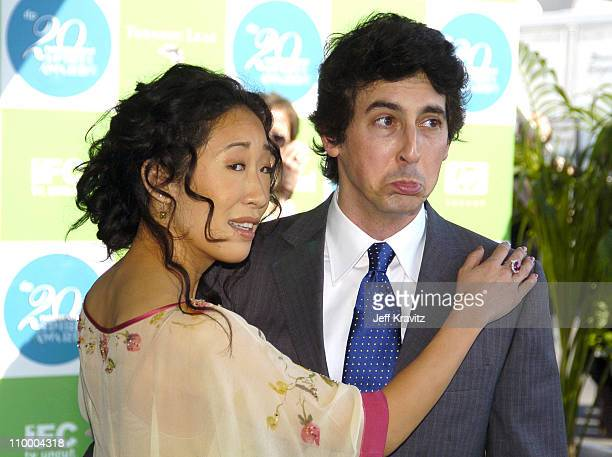 Alexander Payne nominee Best Director and Best Screenplay for Sideways and wife Sandra Oh