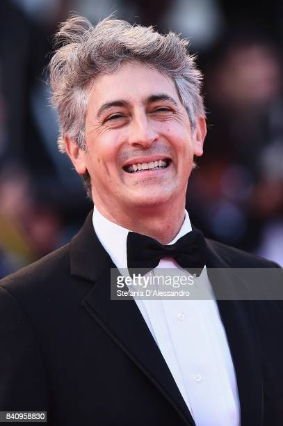 Alexander Payne walks the red carpet ahead of the 'Downsizing' screening and Opening Ceremony during the 74th Venice Film Festival at Sala Grande on...