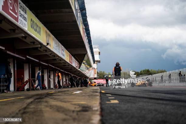 Alexander Peroni Campos Racing during the Barcelona April testing at Circuit de Barcelona-Catalunya on April 09, 2019 in Circuit de...