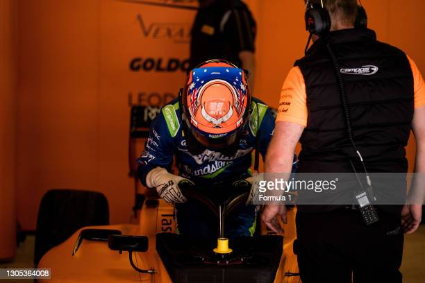 Alexander Peroni Campos Racing during the Barcelona April testing at Circuit de Barcelona-Catalunya on April 10, 2019 in Circuit de...