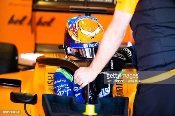 Alexander Peroni Campos Racing during the Hungaroring April Testing at Hungaroring on April 18, 2019 in Hungaroring, Hungary.
