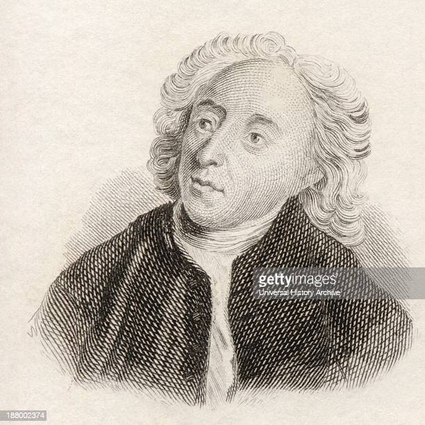 Alexander Pope 1688 To 1744 English Satirical Poet From Crabb's Historical Dictionary Published 1825