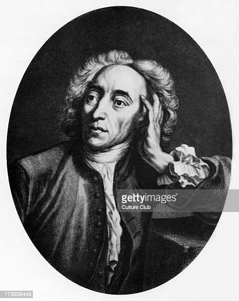 Alexander Pope portrait 18th century English poet 21 May 1688 30 May 1744