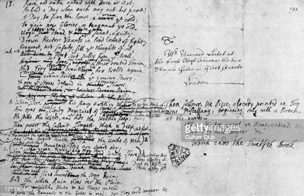 Alexander Pope 's English translation of Homer's Iliad handwritten on the back of a letter Epic Greek poem AP English poet 21 May 1688 30 May 1744