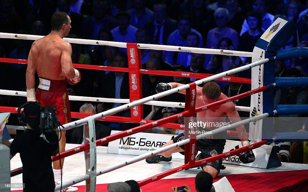 Alexander Povetkin v  Wladimir Klitschko - Heavyweight Fight : News Photo