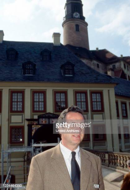 Alexander Prince of Sayn Wittgenstein Sayn at an Europa Nostra event for European Cultural Heritage at Bendorf Germany 1994