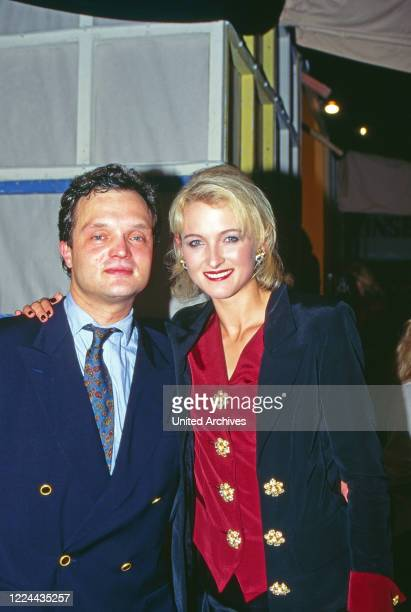 Alexander Prince of Schaumburg Lippe with his wife Marie Louise Lilly nee von Sayn Wittgenstein Berleburg Germany 1995