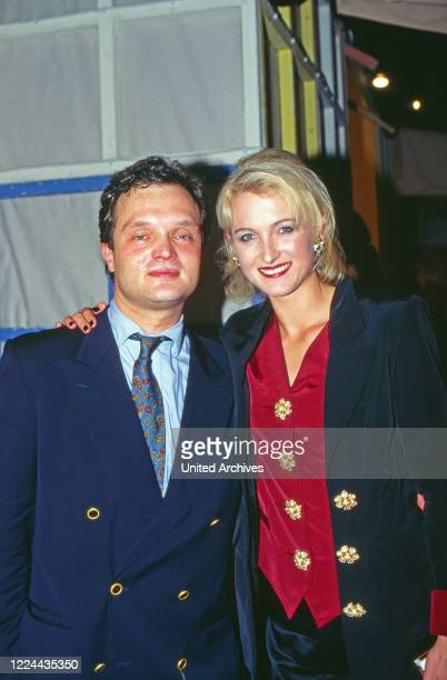 Alexander Prince of Schaumburg Lippe with his wife Marie Louise Lilly nee von Sayn Wittgenstein Berleburg Germany 1995