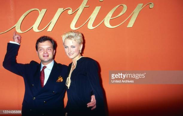 Alexander Prince of Schaumburg Lippe with his wife Marie Louise Lilly nee von Sayn Wittgenstein Berleburg Germany 1994
