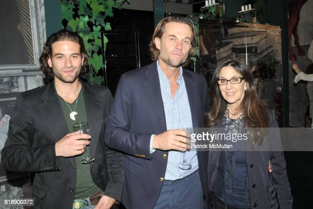 Alexander Purcell Christopher Sharp and Susan Penzner attend The RUG COMPANY Unveils New Showroom Cocktail Party at The Rug Company on May 17 2010 in...