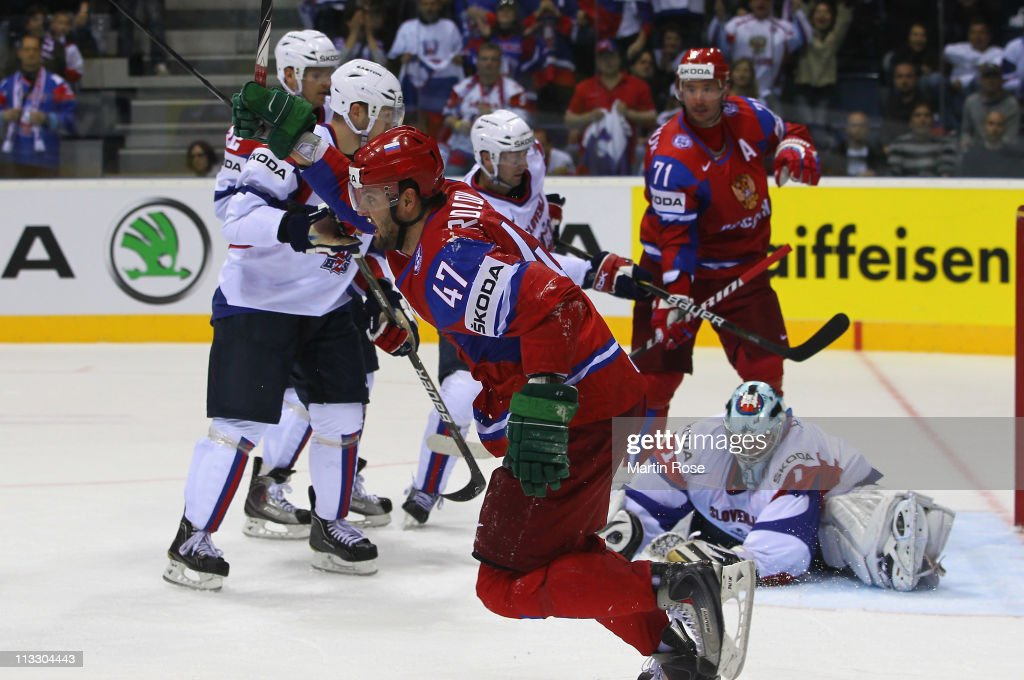 Russia v Slovenia: Group A - 2011 IIHF World Championship