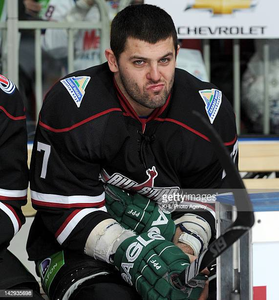 Alexander Radulov of Team Fedorov during the All Star Game against Team Ozolins during the KHL Championship 2011/2012 on January 21 2012 at the Arena...