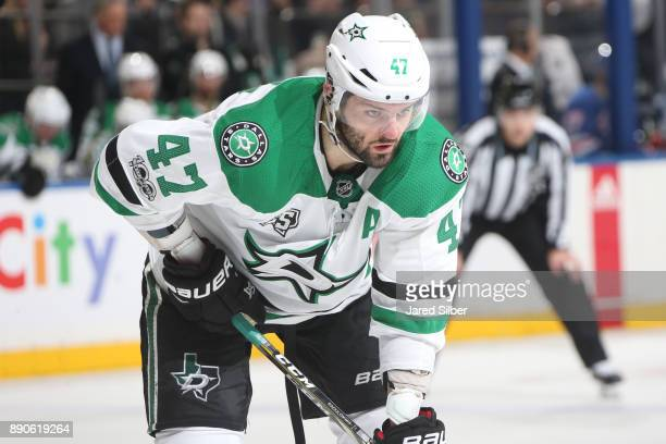 Alexander Radulov of the Dallas Stars looks on during the game against the New York Rangers at Madison Square Garden on December 11 2017 in New York...