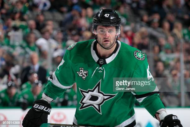 Alexander Radulov of the Dallas Stars skates against the New York Rangers at the American Airlines Center on February 5 2018 in Dallas Texas
