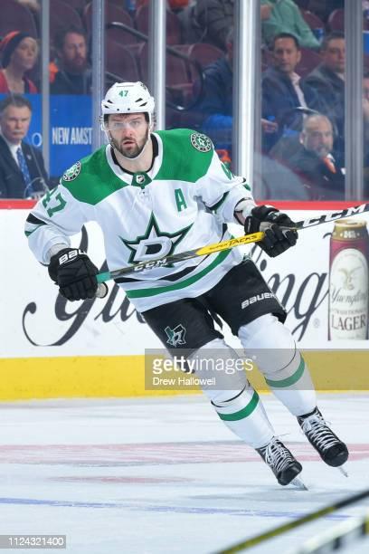 Alexander Radulov of the Dallas Stars skates against the Philadelphia Flyers at Wells Fargo Center on January 10 2019 in Philadelphia Pennsylvania...