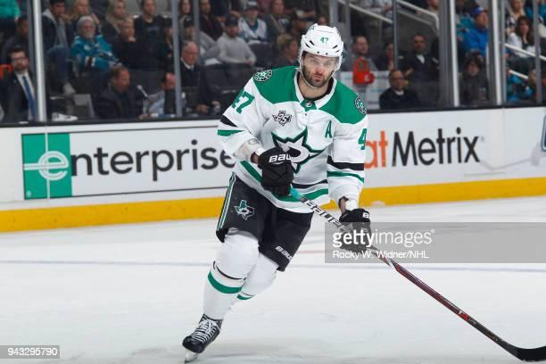 Alexander Radulov of the Dallas Stars skates against the San Jose Sharks at SAP Center on April 3 2018 in San Jose California Alexander Radulov